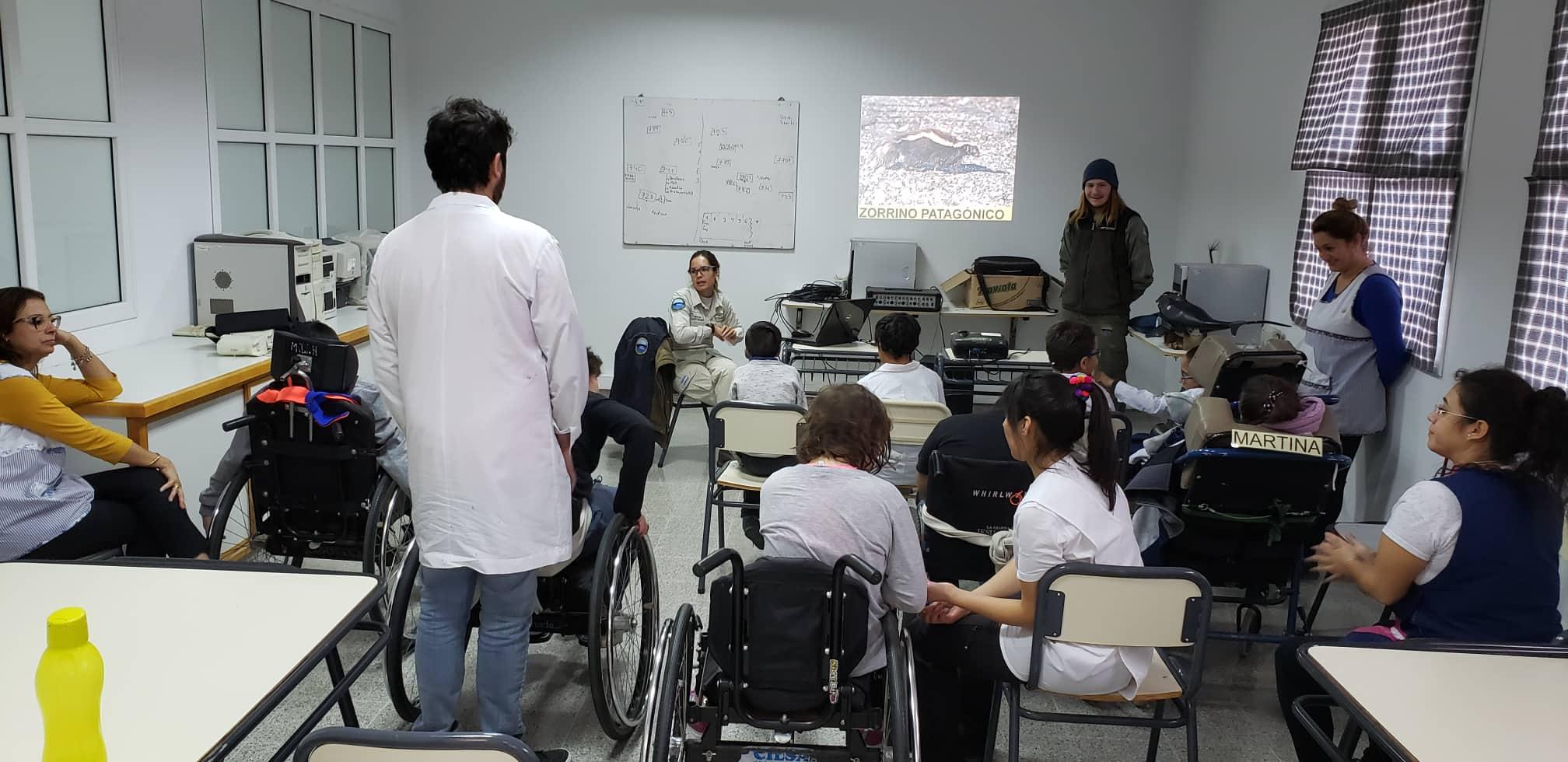 Educacion Ballenas Puerto Madryn